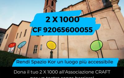 2×1000 a Spazio Kor